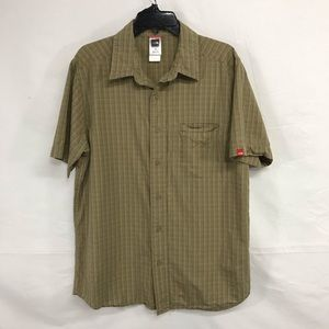 The North Face Men's Button Front Shirt Size M